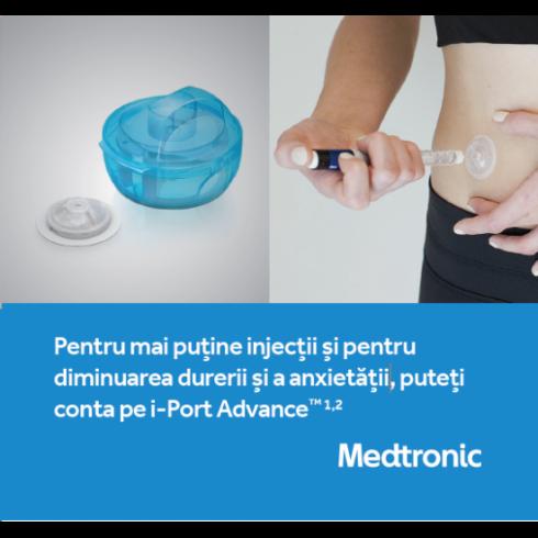 i-Port Advance™ - Pentru mai putine injectii si pentru diminuarea durerii si a anxietatii