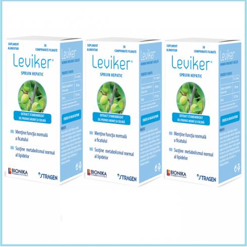 LEVIKER® 2 cutii +1 cutie gratis - Supliment alimentar