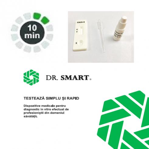 Test rapid marker tumoral CA15-3 - casetă (sânge integral/ser/plasmă) - kit cu 10 teste