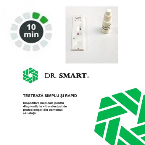 NOU! Test rapid IgG/IgM Boala Lyme – casetă (Sânge integral/ser/plasmă)