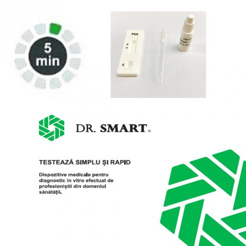 Test rapid calitativ PSA - casetă (sânge integral/ser/plasmă) - kit cu 10 teste