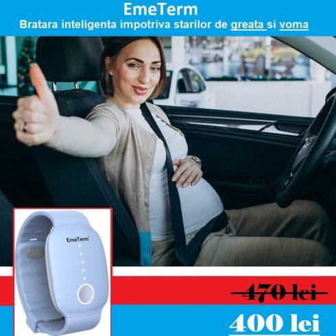 EmeTerm - Bratara inteligenta impotriva starilor de greata si voma