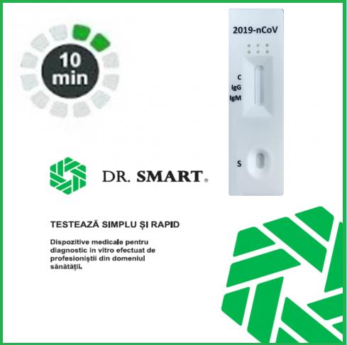NOU! Testul rapid 2019-nCOV IgG/IgM - casetă (Sânge integral/ser/plasmă)