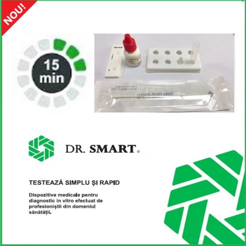 NOU! Test rapid antigen COVID-19 – Kit cu 20 casete test