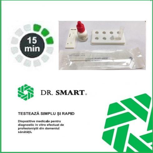 Test Rapid Antigen Covid-19. Kit 10 casete test