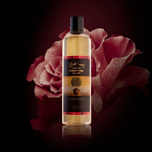Nabulsi Gel de Dus 400 ml Ulei de Trandafir