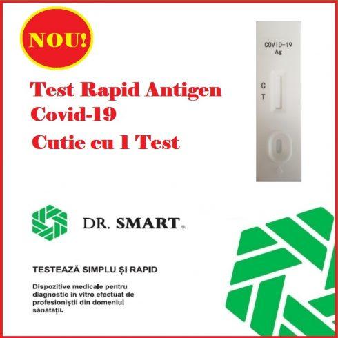 Test Rapid Antigen Covid-19. 1 test/Kit