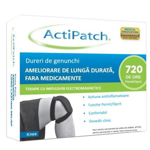 ActiPatch –  dispozitiv medical pentru ameliorare de lunga durata a durerilor de genunchi