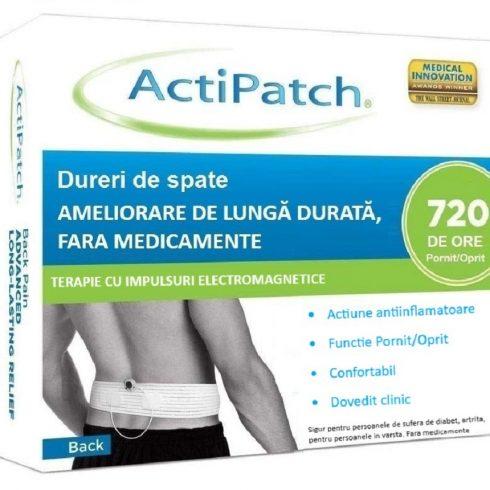 ActiPatch – dispozitiv medical pentru ameliorare de lunga durata a durerilor de spate
