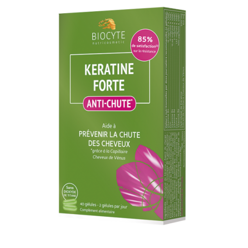 BIOCYTE KERATINE FORTE ANTI-CADERE 40 CPS