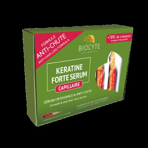 BIOCYTE KERATINE FORTE SERUM ANTI-CHUTE 5x9ml