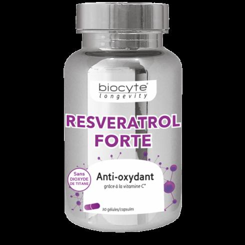 BIOCYTE RESVERATROL FORTE  30 CPS