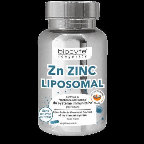 BIOCYTE ZINC LIPOZOMAL 60 CPS