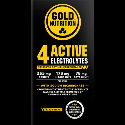 GoldNutrition 4 Active Electrolytes 10 pl