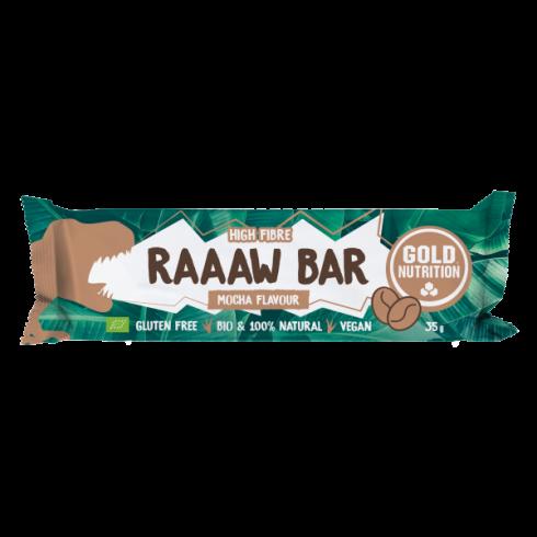GoldNutrition Baton bio Raaaw bar Mocha 35 gr