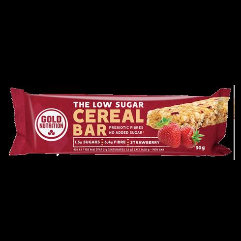 GoldNutrition baton cereale Low Sugar capsuni 30g