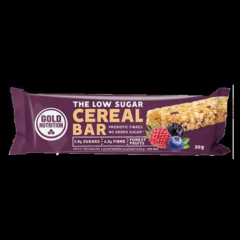 GoldNutrition baton cereale Low Sugar fructe de padure 30g