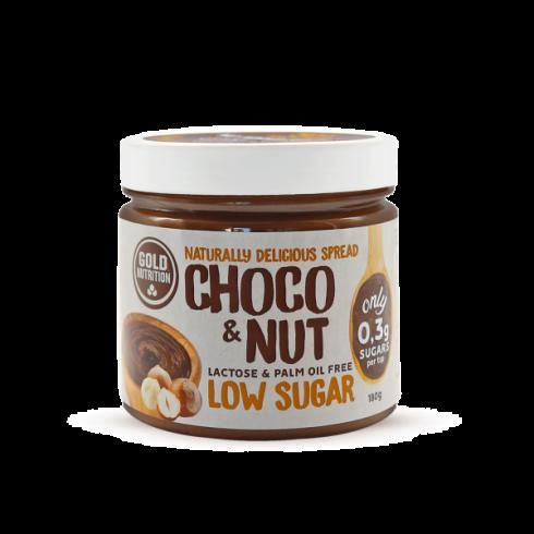 GoldNutrition Choco&Nut Low Sugar-crema tartinabila 180g
