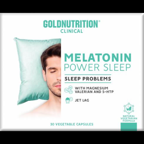 GoldNutrition Clinical Melatonin Power Sleep 30 VCPS