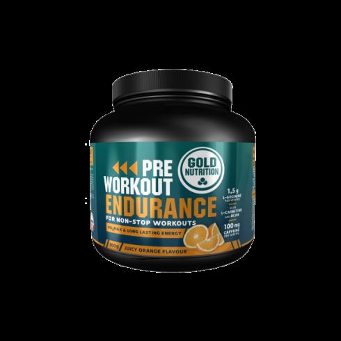 GoldNutrition PRE-WORKOUT Endurance portocale 300 g