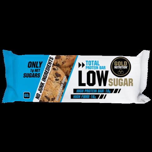 GoldNutrition Protein Bar Low Sugar biscuiti cu fulgi de ciocolata 60gr