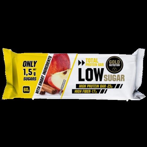 GoldNutrition Protein Bar Low Sugar mere si scortisoara 60gr