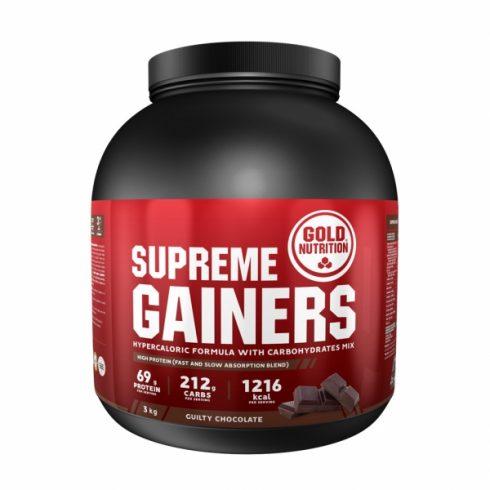 GoldNutrition SUPREME GAINERS ciocolata 3kg