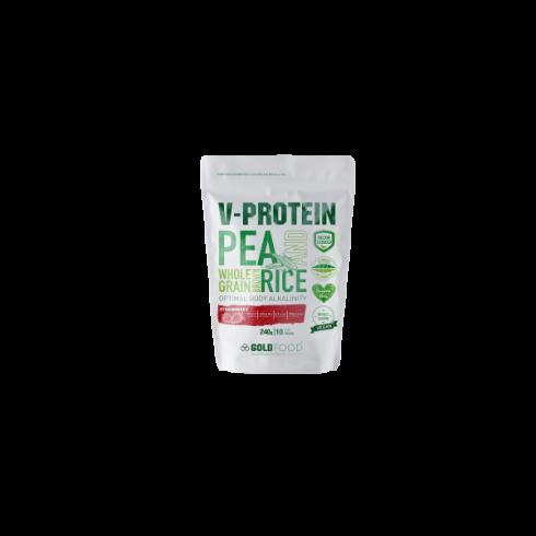 GoldNutrition V Protein capsuni 240 g