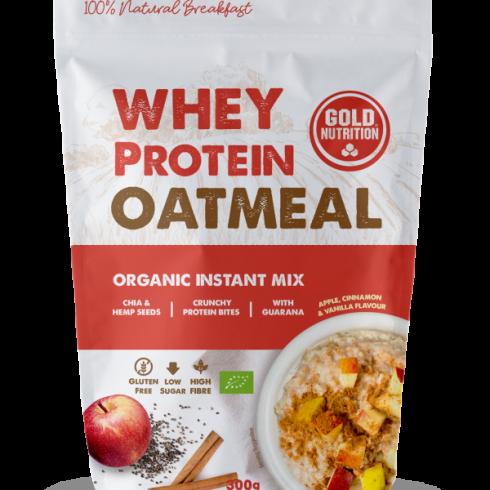 GoldNutrition Whey Protein Oatmeal Bio 300 gr