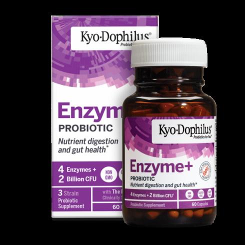 Kyolic Kyo Dophilus Probiotice si Enzime 60 capsule