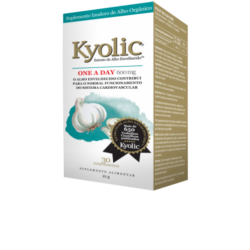 Kyolic One a day 600 mg 30 tablete