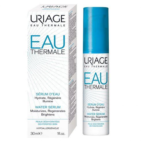 EAU THERMALE Serum hidratare intensa 30ml + Cadou pos Eau thermale masca de ochi + mini Eau thermale masca de noapte 15 ml