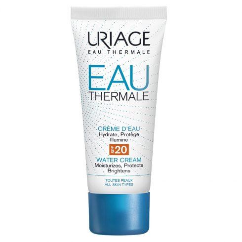 EAU THERMALE Crema hidratanta cu SPF20 40ml  + Cadou pos Eau thermale masca de ochi + mini Eau thermale masca de noapte 15 ml