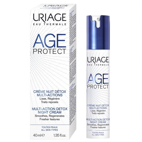 AGE PROTECT Crema noapte detox antiaging 40ml