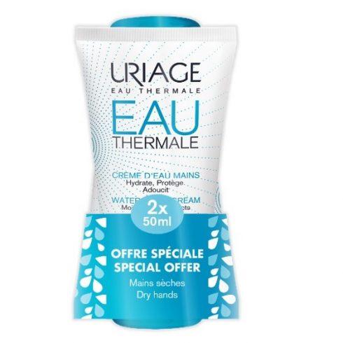 Promo EAU THERMALE Crema de maini 50ml*2 (1+70% discount la al 2-lea)