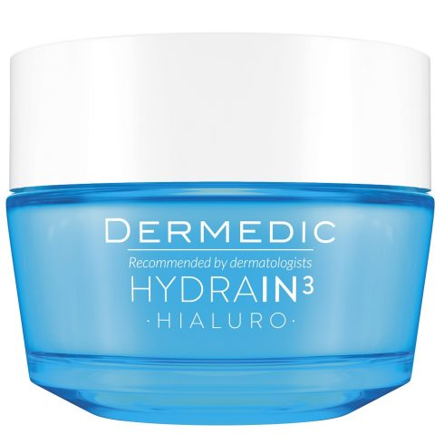 DERMEDIC HYDRAIN3 HIALURO crema profund hidratanta SPF 15 50g