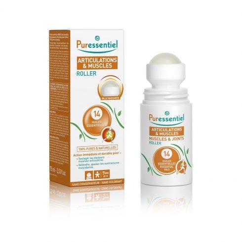 MUSCLE & JOINTS - Roller antireumatic cu 14 uleiuri esentiale 75 ml