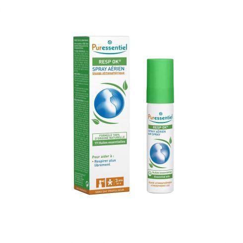 RESPIRATORY - Spray aerian pentru calmarea cailor nazale cu 19 uleiuri esentiale 20 ml