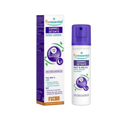 REST & RELAX - Spray aerian cu 12 uleiuri esentiale 75 ml