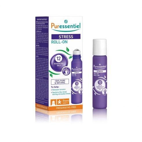 STRESS - Roll-on antistres cu 12 uleiuri esentiale 5 ml