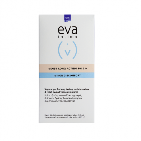 EVA INTIMA Moist Long Acting - hidratare de durata*9 aplicatoare vaginale
