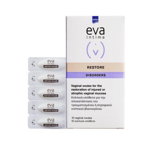 EVA INTIMA Restore cu efect cicatrizant*10 ovule vaginale